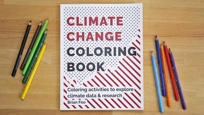 Climate Change Coloring Book ca - bonniegrrl | ello