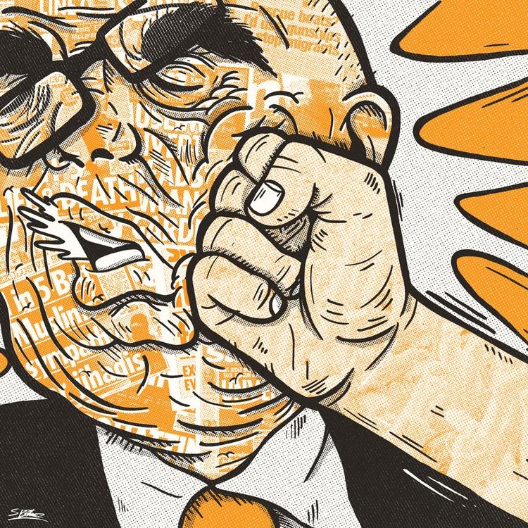 Resist Scaremongering Media cur - samuelbthorne | ello