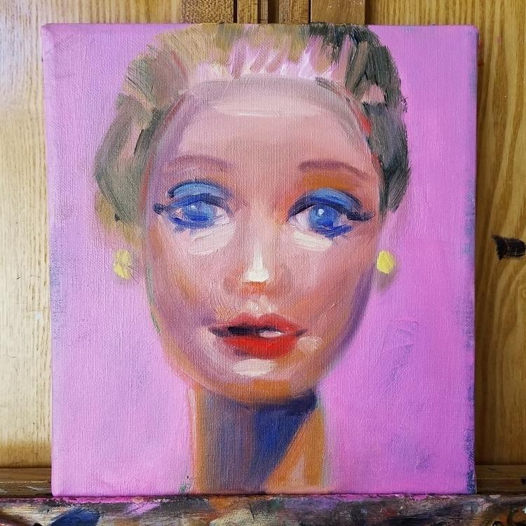 1 hour start fun barbie paintin - megankoth | ello
