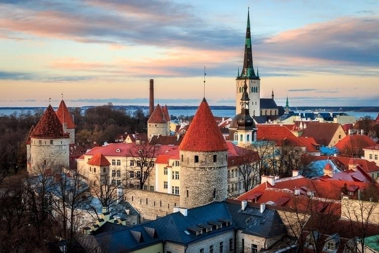 Tallinn, Town Estonia viewed su - davecurry8 | ello