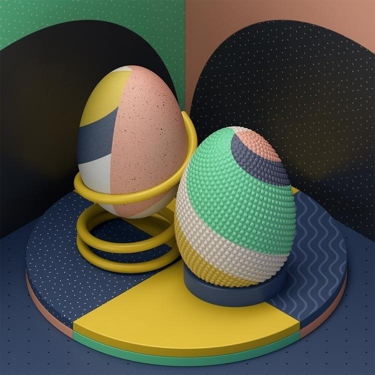 geometry - 3d, set, design, c4d - andreas_wannerstedt   ello