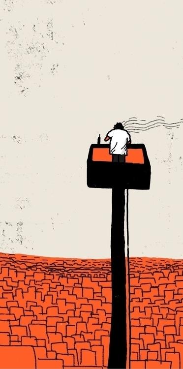 conservative man - illustration - pandeindia | ello