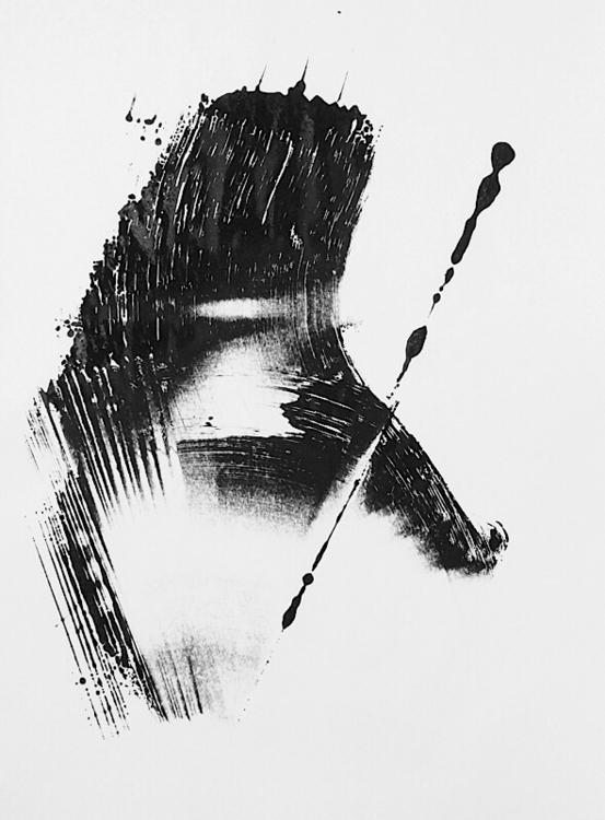 art, monotype - mlui   ello