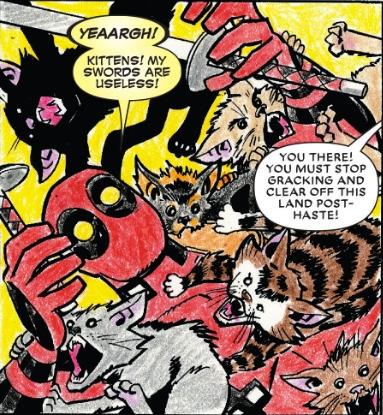 CaturdayComics, Deadpool - robogiggles | ello