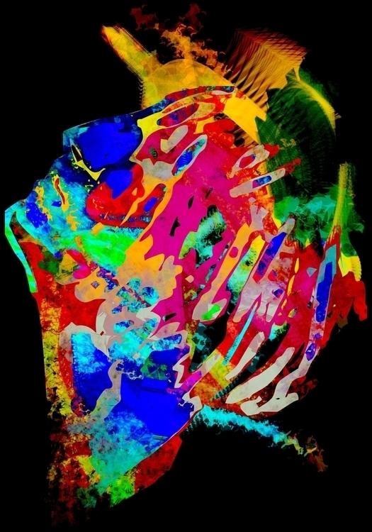 art, abstract, digital - adwen | ello