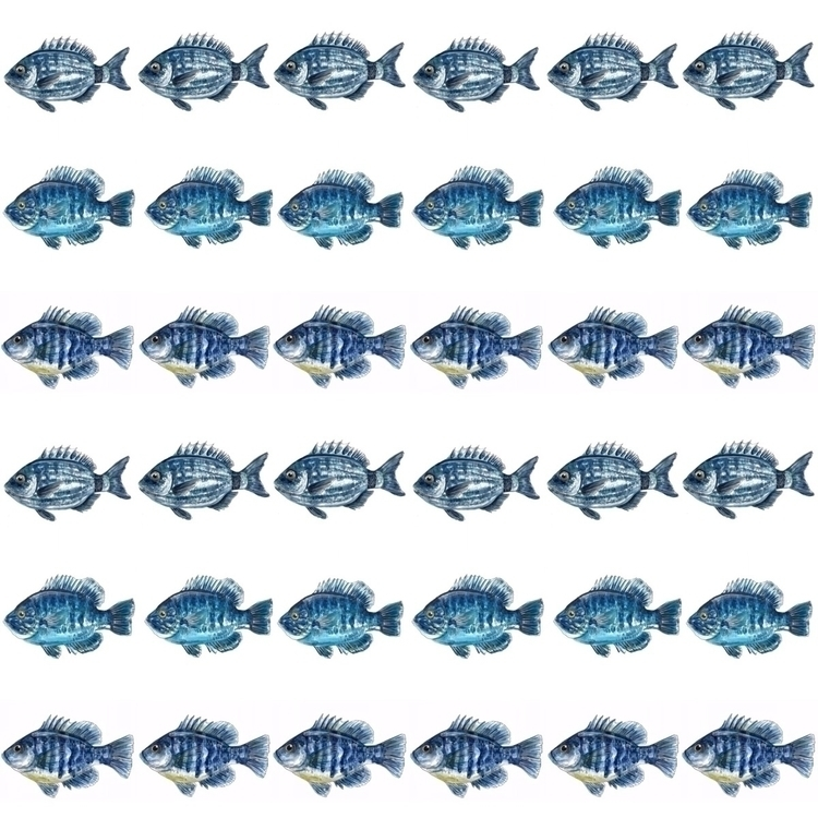 pattern, design, watercolour - aliellydesign   ello
