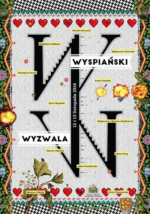 poster Wyspiański Wyzwala (Wysp - victorsoma | ello