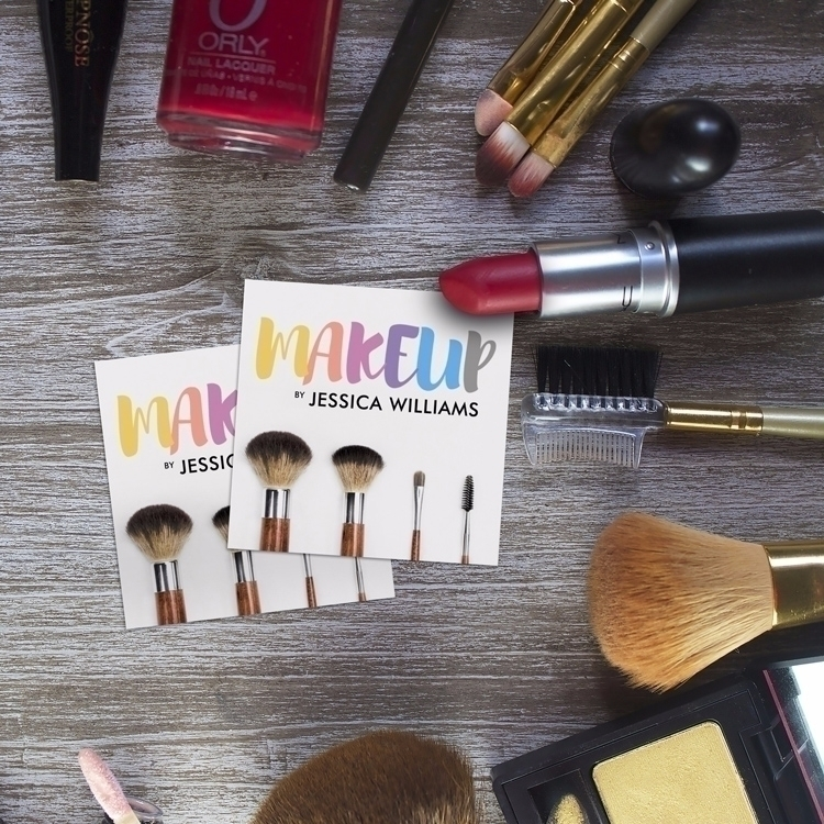 Colorful Makeup Artist Business - j32design | ello