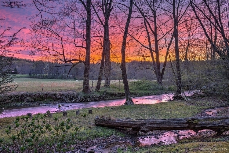 Amazing sunrise colors Unicoi S - davidrrobinson | ello