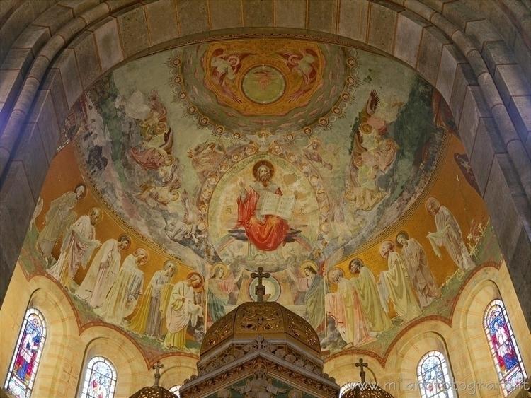 ( ): Vault apse Basilica Corpus - milanofotografo | ello