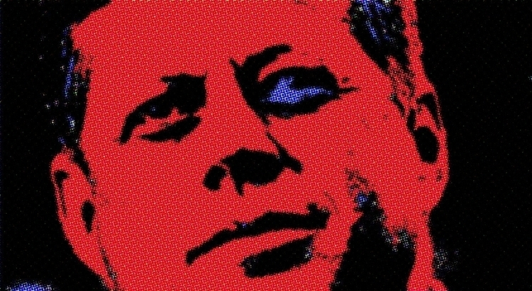 digital, art, jfk - massanori | ello