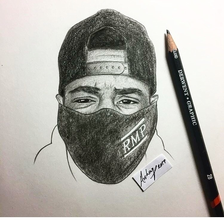 Dope Sketch Supporter - rmp_music | ello