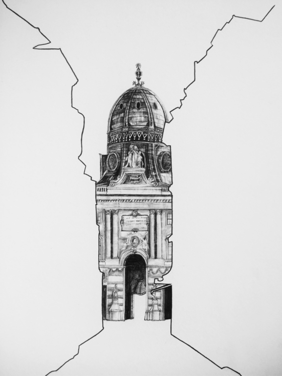 Beautiful drawing Viennese buil - epdraw | ello