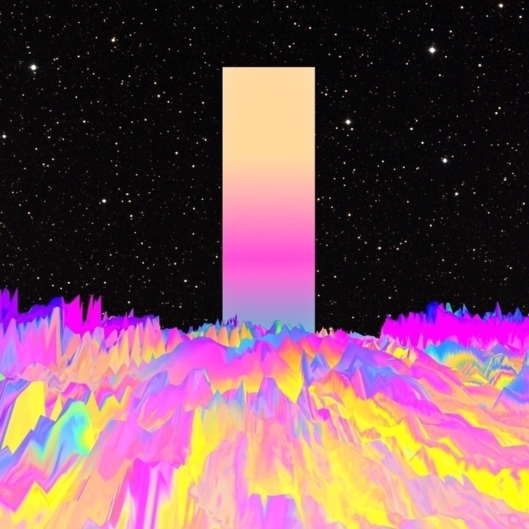 digitalart, abstract, artdaily - nickjaykdesign | ello
