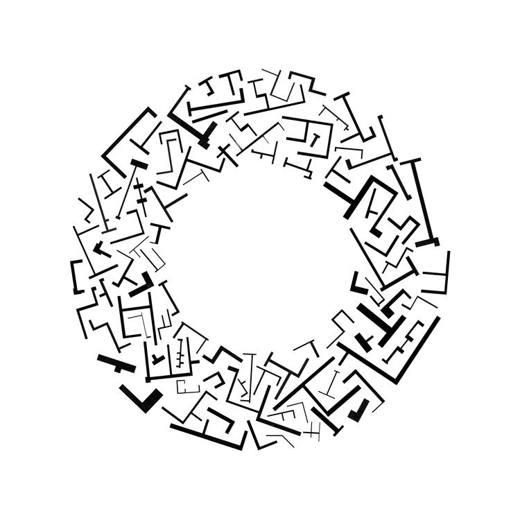 Plan Walls Arranged Circle Cour - archiveofaffinities   ello