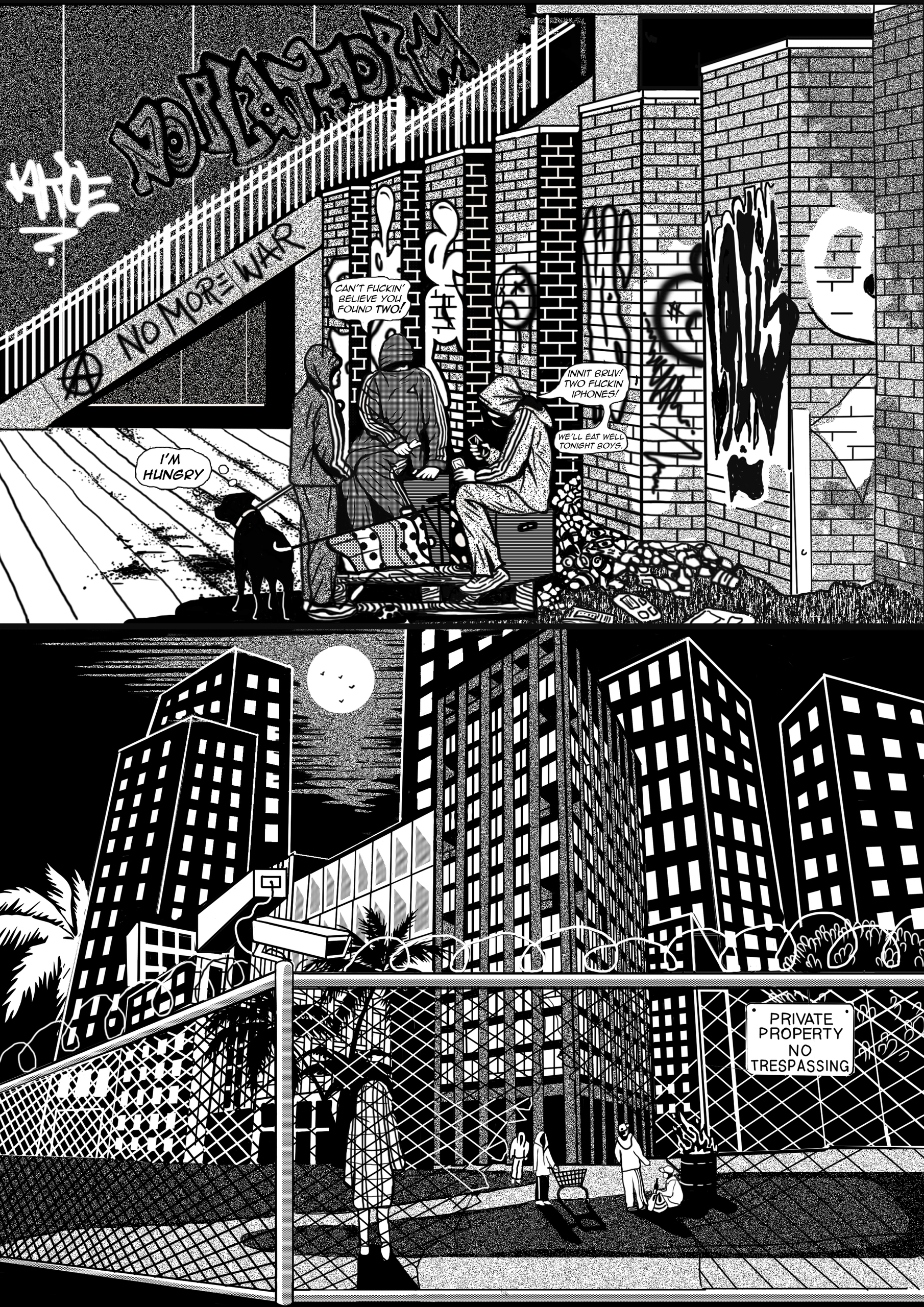 Black Matter Comic, A5 pages Lo - catsims | ello