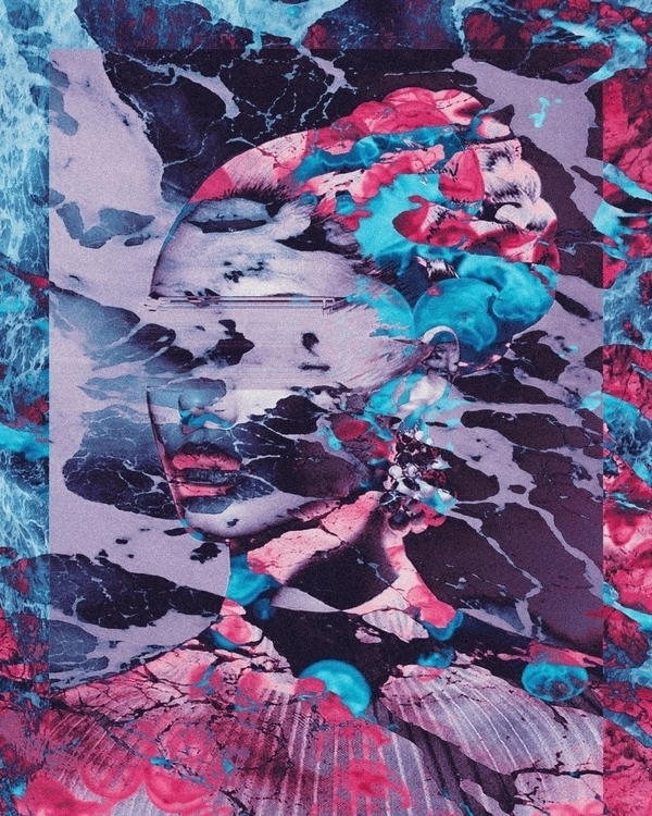 Kina - digitalart, abstract, artdaily - dorianlegret | ello