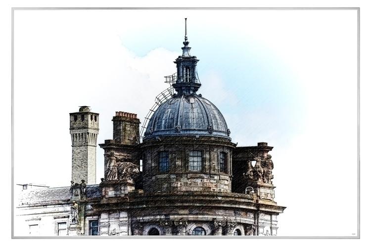 WIP: Glasgow Dome architectural - ageekonabike | ello