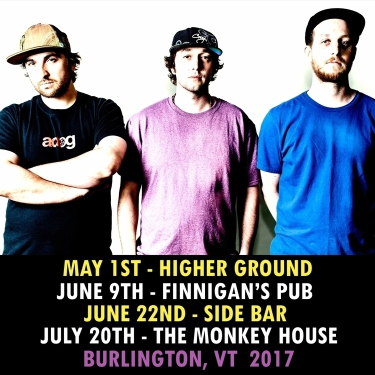 Upcoming shows Burlington, VT.  - ricojames | ello