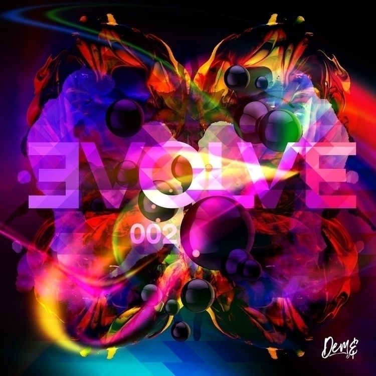 'EVOLVE-002' artwork DeadHumanD - deadhumandesign | ello