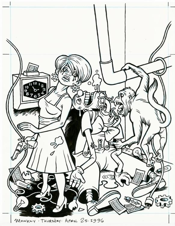Cover art unpublished comics pr - dannyhellman | ello