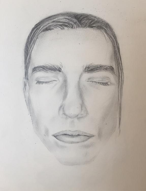 Portrait April/17 - drawing, boy - nellie380 | ello