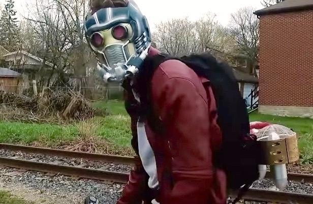 DIY Star-Lord jetpack Guardians - bonniegrrl | ello