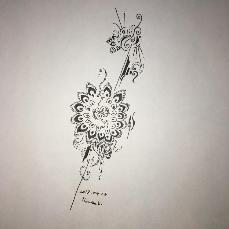 drawing, abstract - themartiansgirlfriend | ello