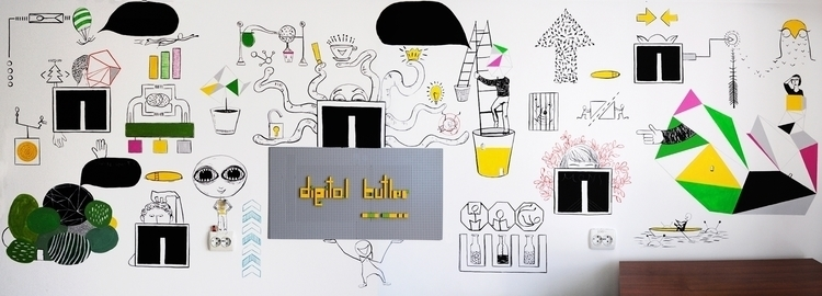 mural painting DIGITAL BUTLER - alinabradu | ello