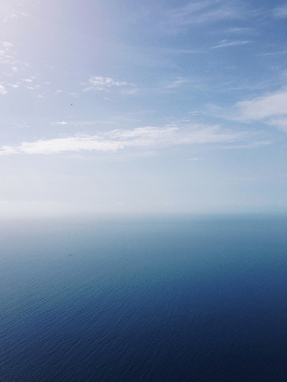Madeira - photography, ocean, blue - pauline_roquefeuil | ello