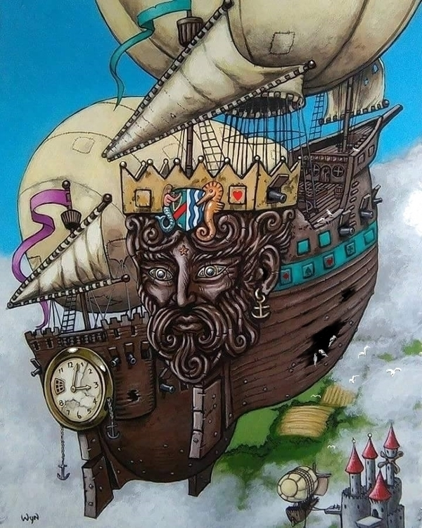 'Ship Wrecks' Steampunk inspire - wynsexon   ello