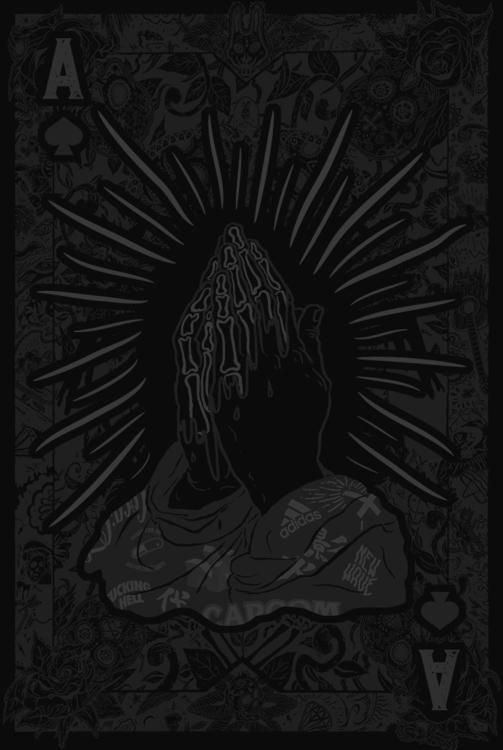 ACE SPADES - LIMITED EDITION - illustration - justblack | ello