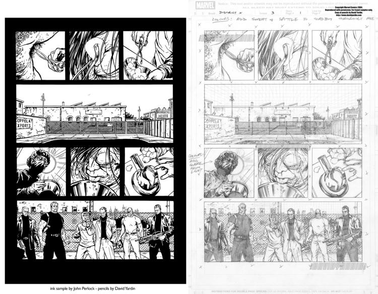 District issue 3, pages 1. Unpu - johnperlock_illustrator | ello