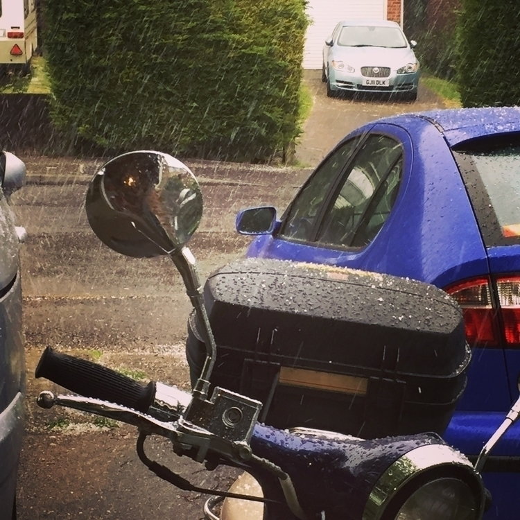 Random hailstorm today - grahamguy | ello