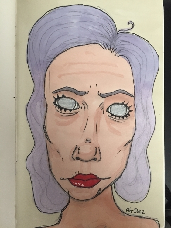 ahdeeart, art, markers, copic - ahdee | ello