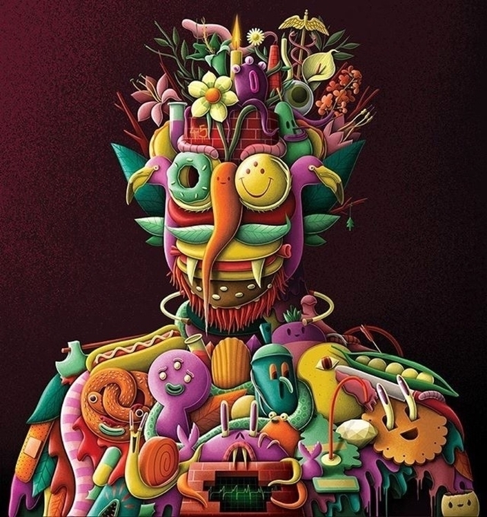 Arcimboldo artist upcoming even - helliongallery | ello