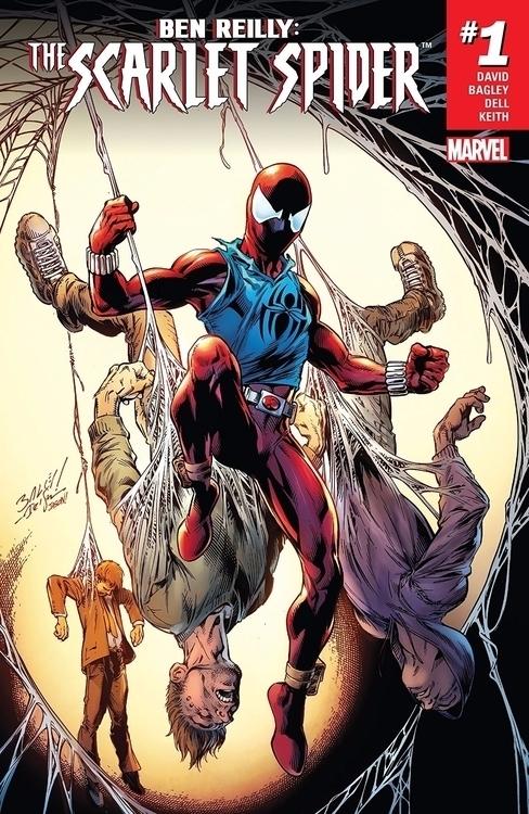 Ben Reilly: Scarlet Spider Marv - oosteven | ello