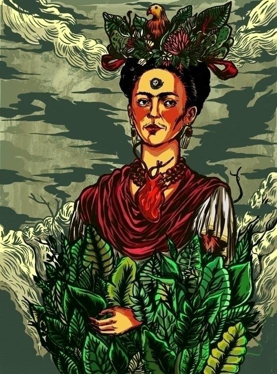 Frida Kahlo Nicolae Negura Chec - nicolaenegura | ello