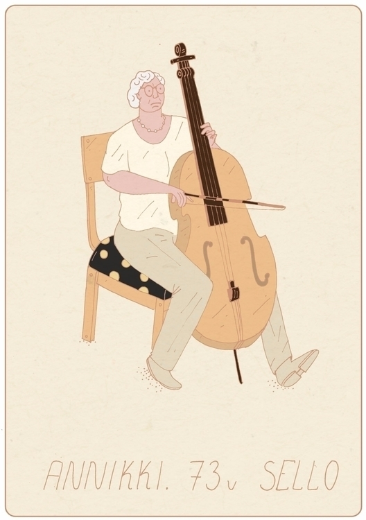 Seniors retirement days - illustration - maxim-usik | ello
