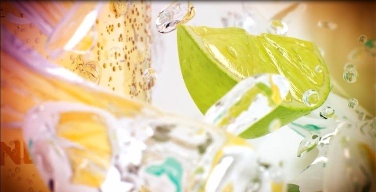 iced tea 3D commercial Inhouse  - nicks1008   ello