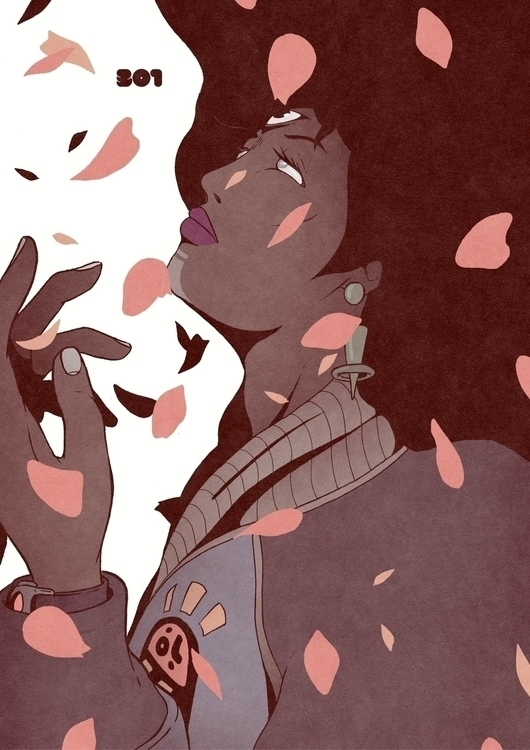 Day 301/365: Soul Spring - illustration - 1sles | ello