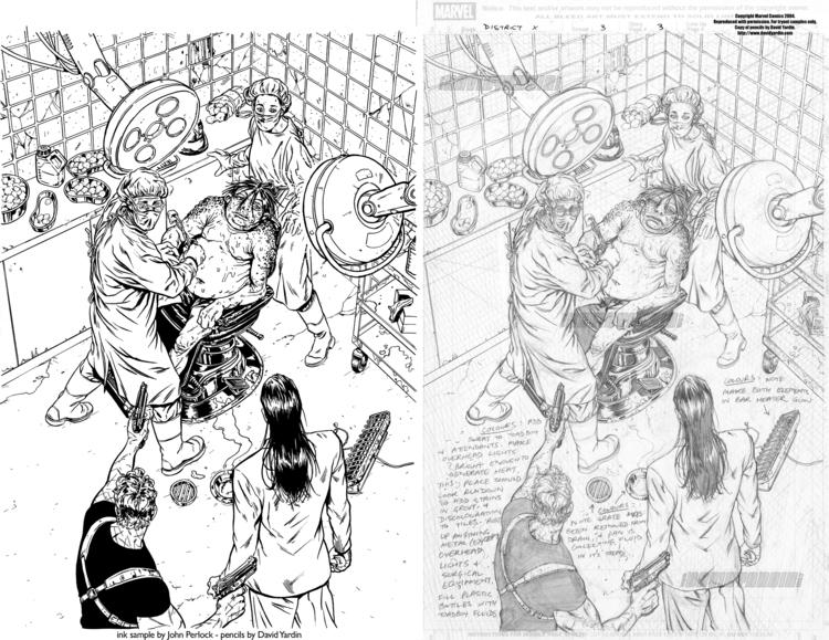 District issue 3, page 3. Unpub - johnperlock_illustrator | ello
