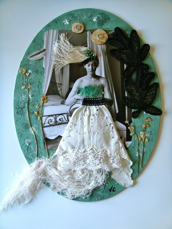 bride Mixed media collage Valer - vcoloiera | ello