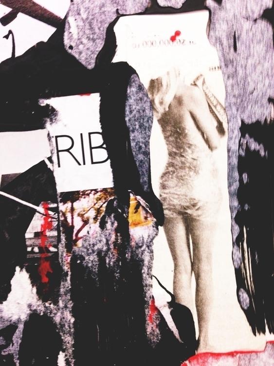 RIB POP MARXIST - art, collage, texture - jkalamarz | ello