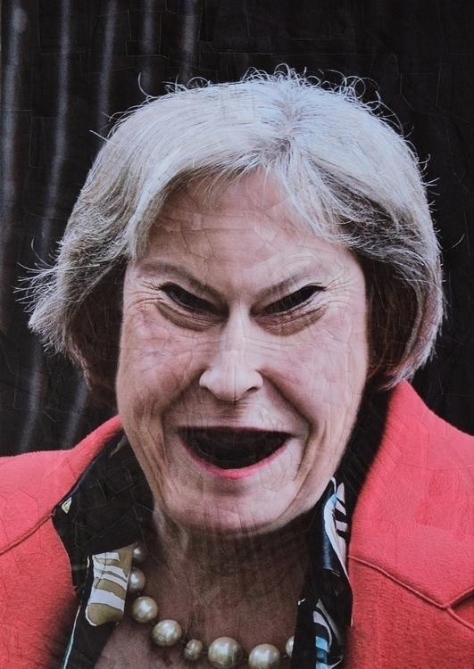 Theresa paper collage panel, 21 - loladupre | ello