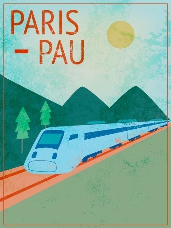piece created trip Paris Pau vi - anthonyforonda | ello