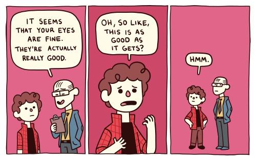 laser vision - comics, journalcomics - stepsoversnails | ello