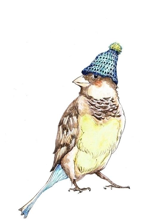 Cheeky bird - birds, cute, nature - ankastan | ello