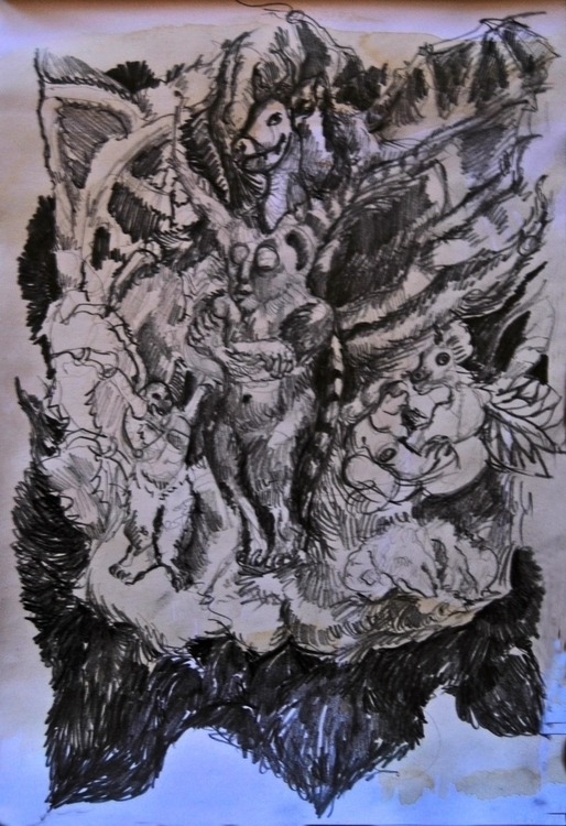 painting,illustration, graphic  - wickedbastet1982   ello