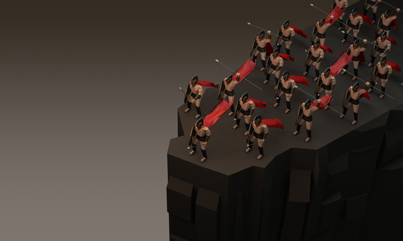 cliffs - lowpoly, 300, characterdesign - veej   ello